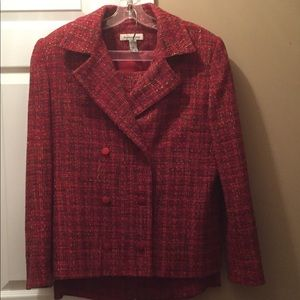 Size 14 dress jacket with skirt.